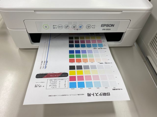 パターン印刷