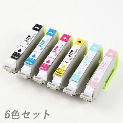ITH-6CL (イチョウ) エプソン 互換インク 6色セット
